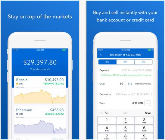 Coinbase - Buy Bitcoin & more - Reskin Mobile App