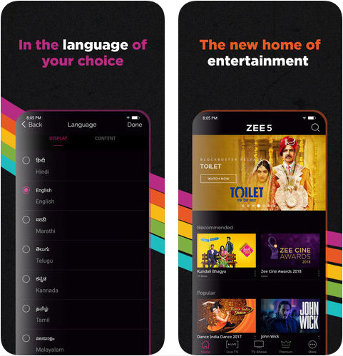 ZEE5 - Shows Live TV & Movies Archives - Reskin Mobile App